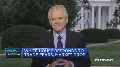 National Trade Council Director Peter Navarro contradicted reports that the White House plans to limit Chinese investment in U.S. tech firms.