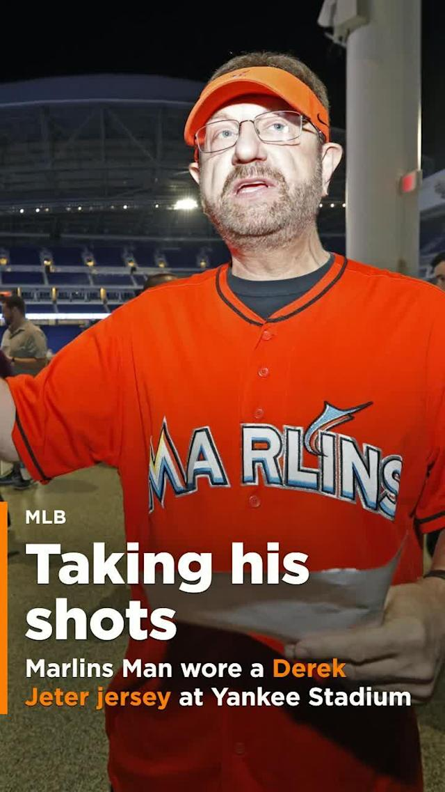 After feeling slighted by his favorite team, Marlins Man has decided to go all-in against the new ownership group of the Miami Marlins.