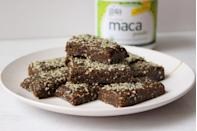 """<p>Hemp has officially made its way into desserts—and these sweet bars put its protein and healthy fats to good use. </p><p><a class=""""link rapid-noclick-resp"""" href=""""https://kellyjonesnutrition.com/cashew-cookie-hemp-energy-bars/"""" rel=""""nofollow noopener"""" target=""""_blank"""" data-ylk=""""slk:GET THE RECIPE"""">GET THE RECIPE</a></p><p><em>Per serving: 185 calories, 6 g fat (1 g saturated), 29 g carbs, 5 mg sodium, 22 g sugar, 3 g fiber, 5 g protein </em></p>"""