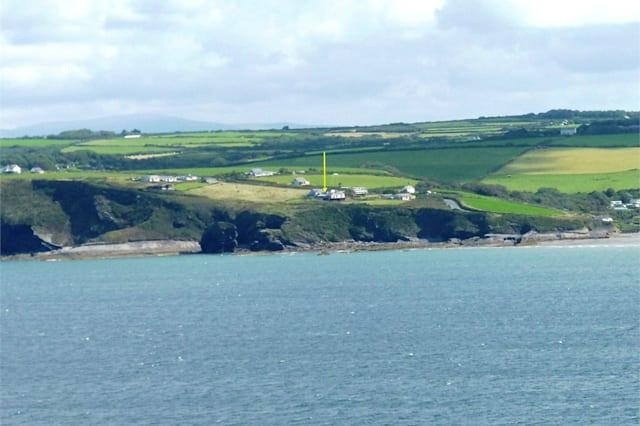 The Haverfordwest house from the sea
