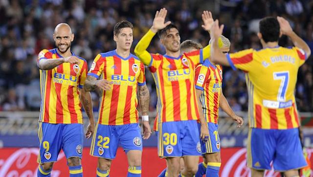 "<p>The La Liga side may not be a team that anyone pays much attention to, as teams such as Barcelona and Real Madrid take up the vast majority of the spotlight, however Real Sociedad have every chance of progressing to the top of Spain's top division in a similar way to Leicester, and their performances this season have shown glimpses of the side that won the Premier League just two years ago.</p> <br><p>Despite sitting eighth in the league with not too much to shout about in terms of challenging for higher spots, the ""White and Blues"" can boast the second highest goal tally in La Liga thus far. A large part of Leicester's success was their ability to score more goals than the opposition, no matter how many goals that may be. However this is something Sociedad will have to work on further,</p> <br><p>With former Real Madrid player Illarramendi at the heart of midfield and former Man Utd starlet Adnan Januzaj out wide, Sociedad have players with experience at large clubs. Headed up top by in-form Juanmi, they will have every chance of continuing their fantastic goal-scoring record this season, and in the seasons to come they have the potential to challenge for the league title. </p>"