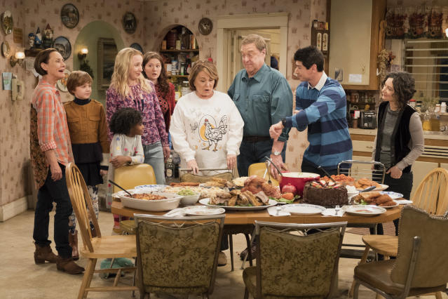 <em>Roseanne </em>was canceled in May by ABC after star Roseanne Barr's much-publicized racist Twitter rant. (Photo: ABC) <br>