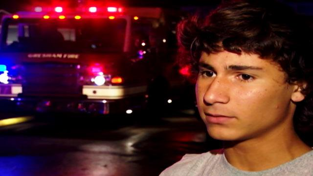 Oregon Teen Rescues 7-Year-Old Neighbor From House Fire