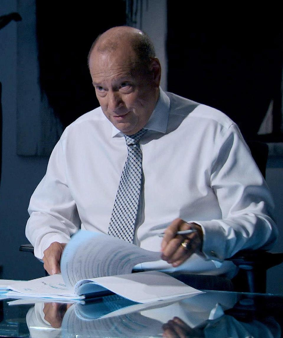 Claude Littner replaced on The Apprentice after electric bike accident (PA Media)