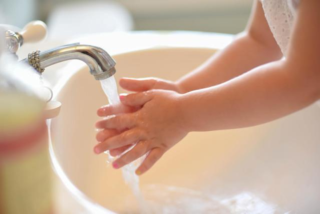 Getting children to wash their hands properly can be a struggle [Photo: Getty]