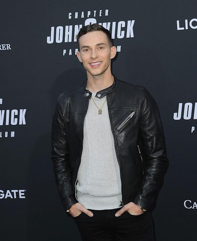 """<p>Adam hosts his own YouTube series, <em><a href=""""https://www.today.com/video/olympian-adam-rippon-talks-about-his-new-show-break-the-ice-1505986115608"""" rel=""""nofollow noopener"""" target=""""_blank"""" data-ylk=""""slk:Break The Ice"""" class=""""link rapid-noclick-resp"""">Break The Ice</a></em><em>, </em>in which he interviews a celebrity and gives them a skating lesson. You also might recognize him in Taylor Swift's <a href=""""https://www.youtube.com/watch?v=Dkk9gvTmCXY"""" rel=""""nofollow noopener"""" target=""""_blank"""" data-ylk=""""slk:&quot;You Need To Calm Down&quot; music video"""" class=""""link rapid-noclick-resp"""">""""You Need To Calm Down"""" music video</a>!</p>"""