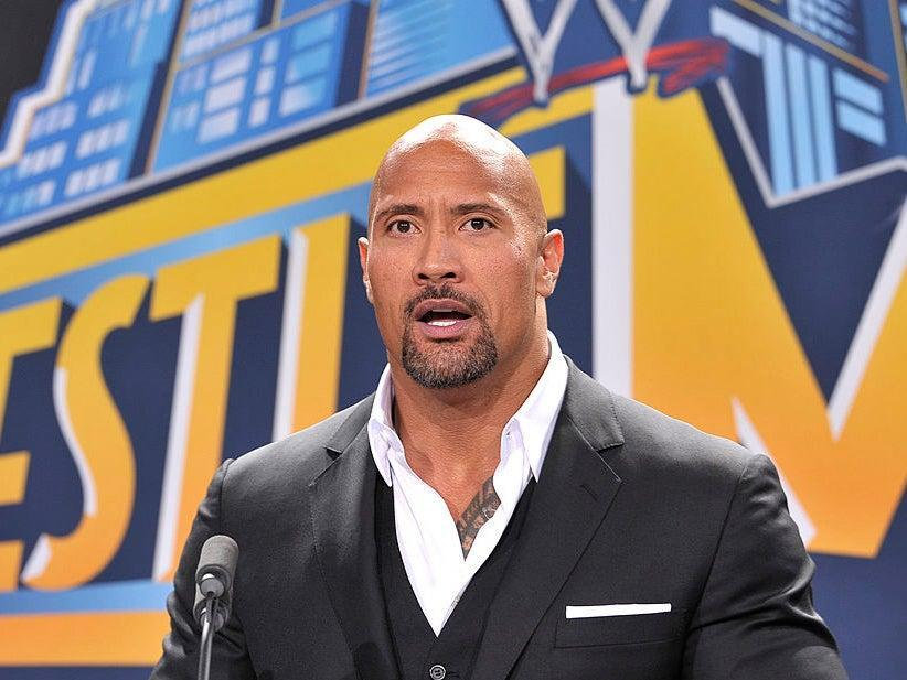 The Rock is tempted to make a comeback to the WWE (Getty)