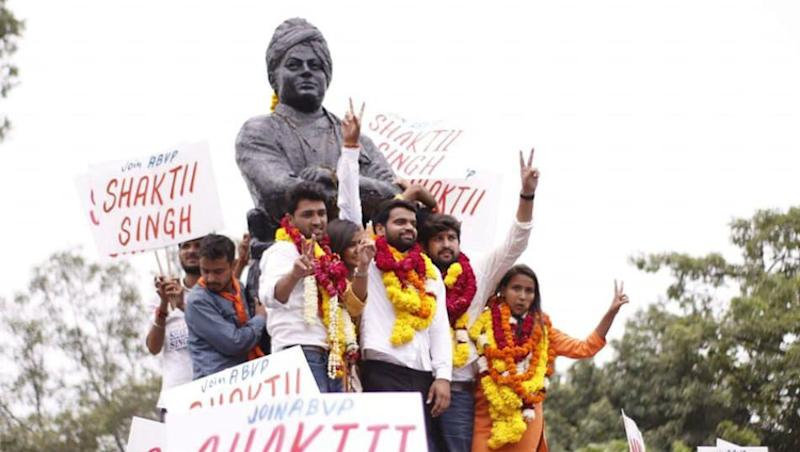 DUSU President Ankiv Baisoya Caught in 'Fake Degree' Row, Fails to Name Subjects He Studied