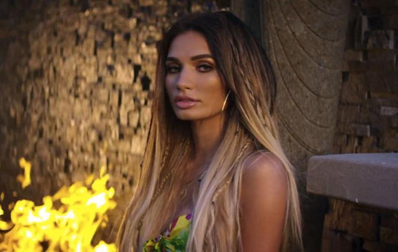 She sizzles in her I'm A Fan music video, and is set to tour in Australia later this month. Source: Wolfpack/Interscope Records