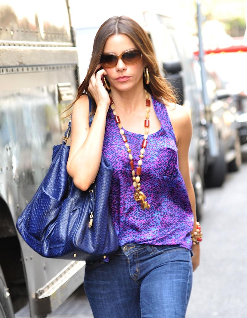 Sofia Vergara in the street
