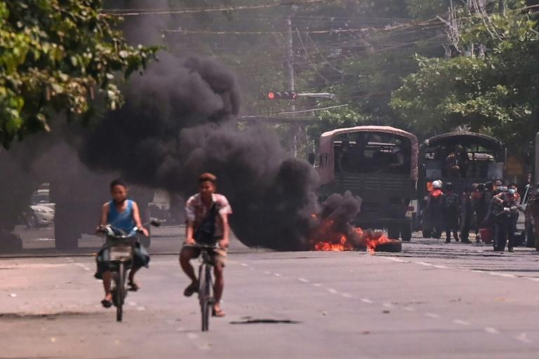 Several rebel groups have condemned the junta's use of lethal force against anti-coup protesters