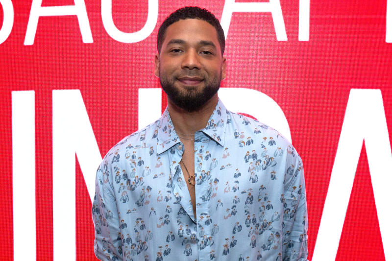 Jussie Smollett charged with filing a false report