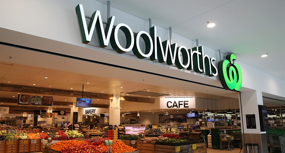 A Woolworths store.