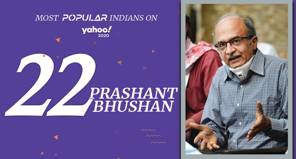 Prashant Bhushan (born 15 October, 1956) <br>Supreme Court Lawyer