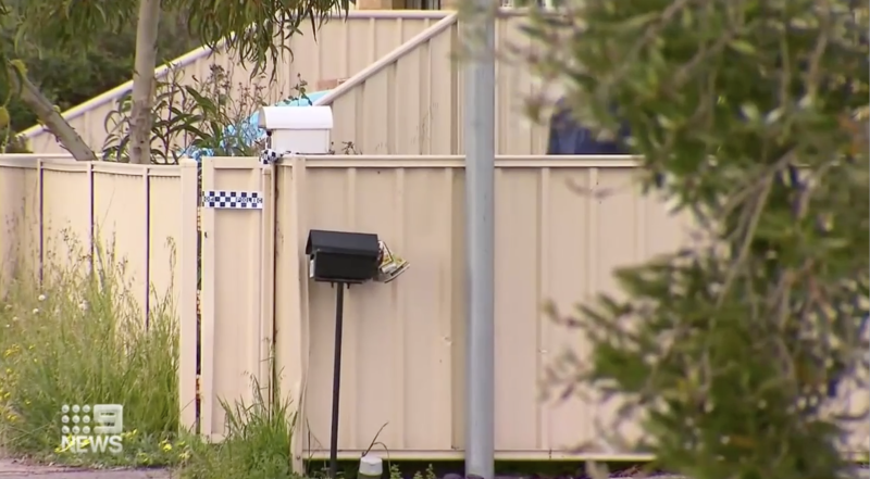 Police were called to a Perth home on Monday night, where a deceased man was located and an aggressive dog was removed from the property. Source: Nine News