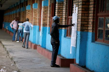 DR Congo election: Internet shut down after presidential vote