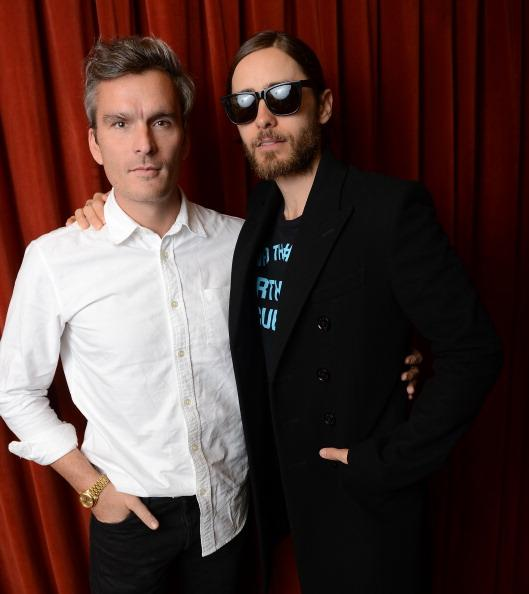"Musician/actor Balthazar Getty (L) and musician/director Jared Leto attend the green room photo op for ""Artifact"" during the 2013 SXSW Music, Film + Interactive Festival at the Paramount Theatre on March 13, 2013 in Austin, Texas."