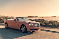 """<p>The next Rolls-Royce on the EPA's list is the 563-hp <a href=""""https://www.caranddriver.com/rolls-royce/dawn"""" rel=""""nofollow noopener"""" target=""""_blank"""" data-ylk=""""slk:Dawn"""" class=""""link rapid-noclick-resp"""">Dawn</a>, a luxurious four-seat convertible that packs plenty of driver-assistance features alongside its gas-guzzling performance numbers. The Dawn can go from zero-to-60 mph in 4.3 seconds but keeps its focus on comfort. The eight-speed automatic transmission, for example, can use GPS information to change where it shifts gears based on whether the car is going uphill, downhill, or around corners. That's proof Rolls-Royce has plenty of interesting and helpful technology at its disposal, but the company's engineers are not prioritizing fuel economy in any way.</p><ul><li>Base price: $359,250 </li><li>Engine: 563-hp twin-turbo 6.7-liter V-12 engine, eight-speed automatic transmission</li><li>EPA Fuel Economy combined/city/highway: 14/12/18 mpg</li></ul><p><a class=""""link rapid-noclick-resp"""" href=""""https://www.caranddriver.com/rolls-royce/dawn/specs"""" rel=""""nofollow noopener"""" target=""""_blank"""" data-ylk=""""slk:MORE DAWN SPECS"""">MORE DAWN SPECS</a></p>"""