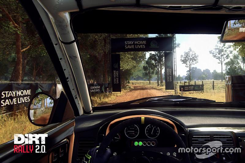 Codemasters adds coronavirus message into DiRT Rally 2.0