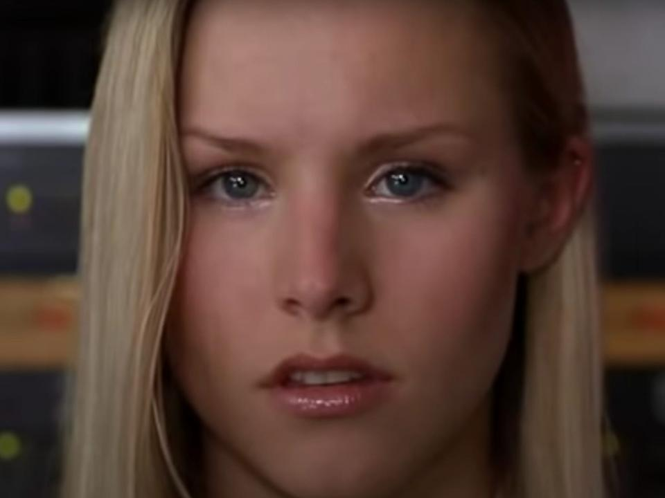 "Kristen Bell had a small role in ""Pootie Tang."""