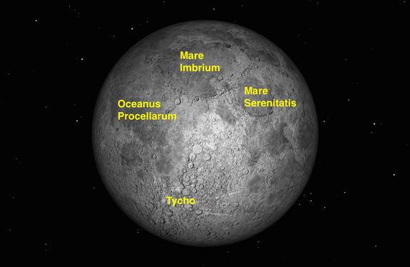 Full moon occurs this month at 2:35 p.m. EDT on Saturday, Aug. 29, 2015.
