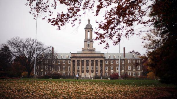 PHOTO: Old Main on the Penn State main campus in State College, Pa., Oct. 28, 2015. (Gene J. Puskar/AP Photo)