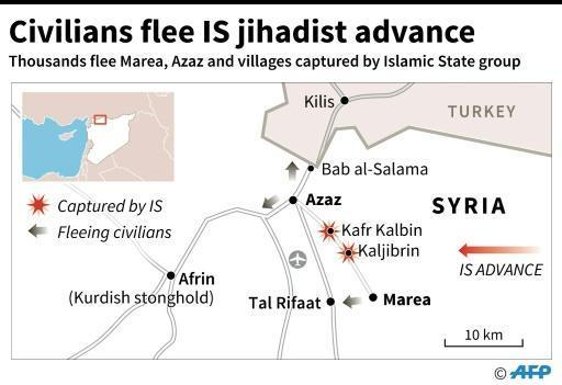 'Nowhere to go': MSF says IS Syria assault traps thousands
