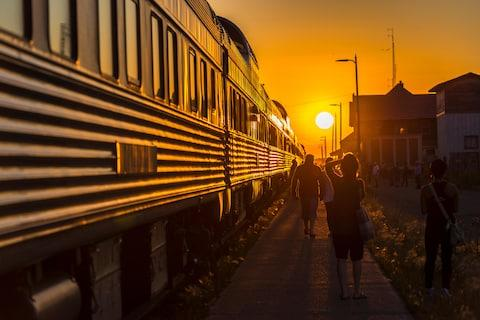 Rail and air travel are often stressful