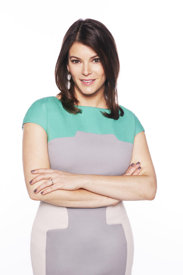 """Gail Simmons is the head critic on """"Top Chef Masters"""" Season 5."""