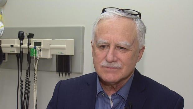 Dr. John Conly, an infectious diseases physician and professor of medicine at the University of Calgary who also advises the World Health Organization, denies that aerosol transmission is a primary route of COVID-19 transmission, despite mounting evidence to the contrary. (Jennifer Lee/CBC - image credit)