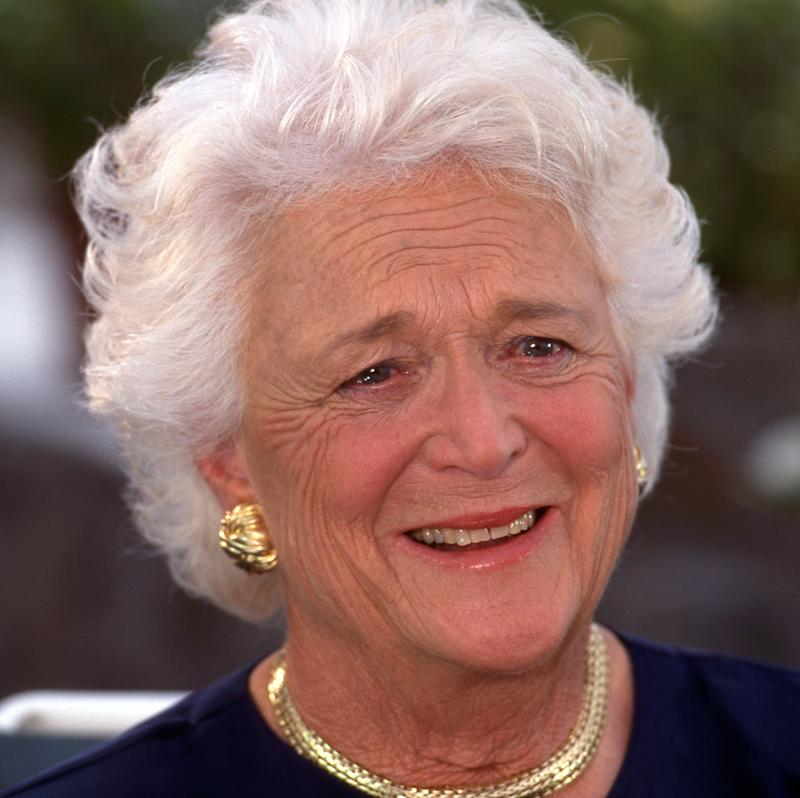 Barbara Bush, who was the wife of one president and the mother of another, died on April 17, 2018. She was 92.