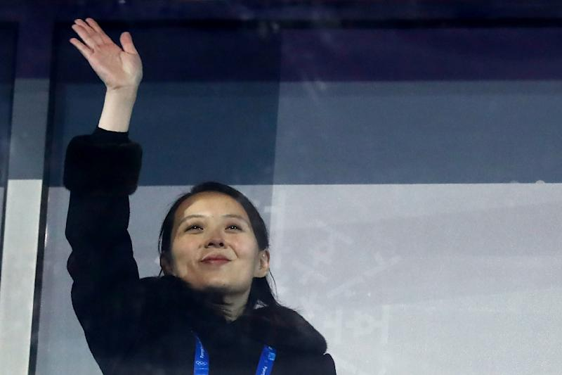 North Korea's leader Kim Jong Un sent his sister Kim Yo Jong to the Winter Games in the South on a charm offensive (AFP Photo/Odd ANDERSEN)