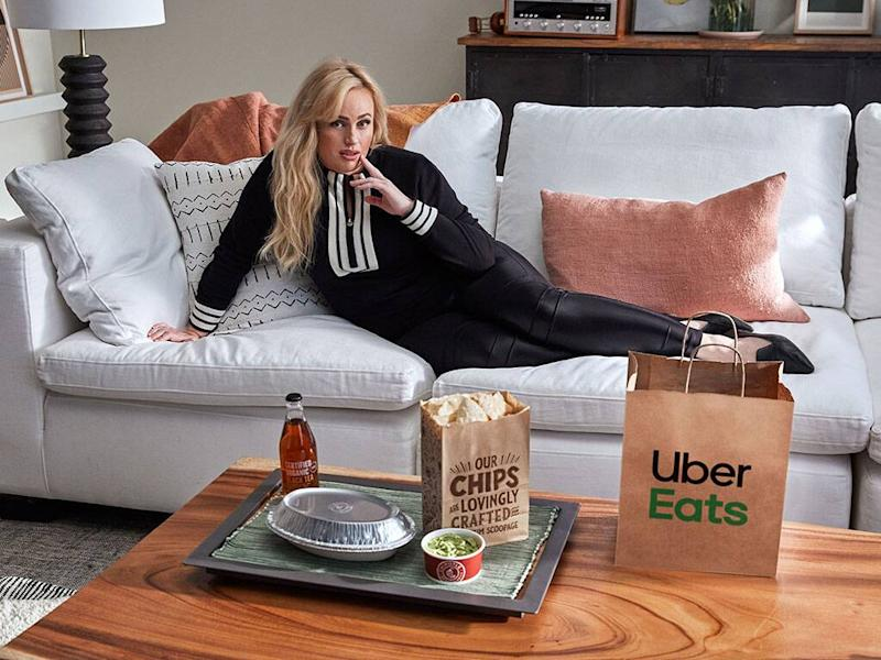 Rebel Wilson, Uber Eats, Hinge, Chipotle