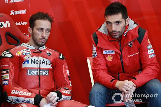 """Andrea Dovizioso, Ducati Team, Michele Pirro, Pramac Racing <span class=""""copyright"""">Gold and Goose / Motorsport Images</span>"""