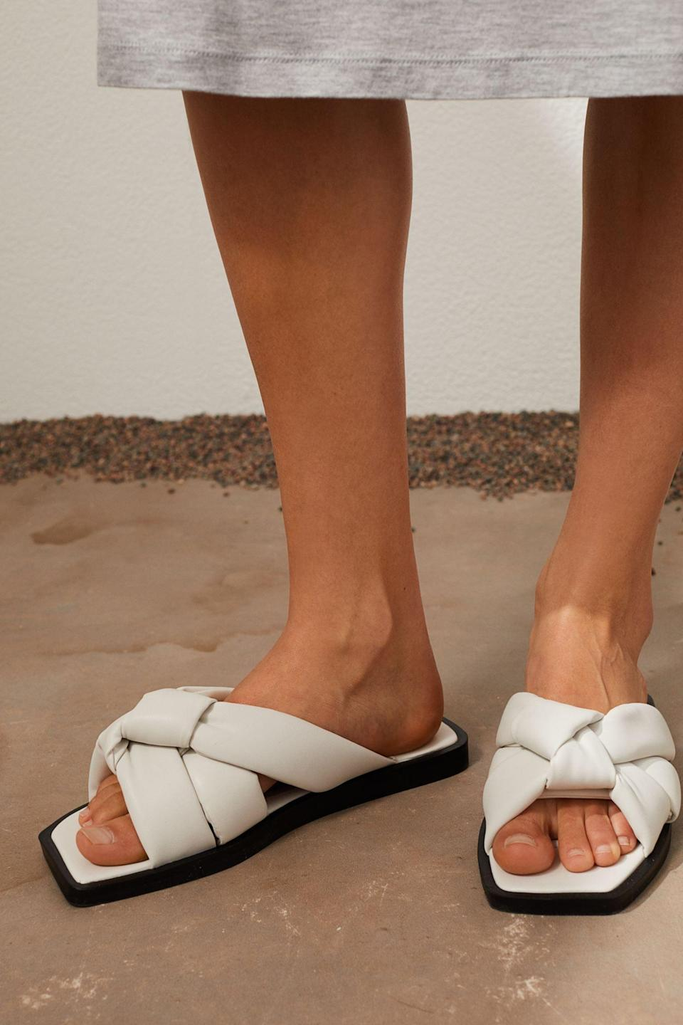 <p>Yes, we're definitely planning to wear these <span>Slides</span> ($30) all day, every day.</p>