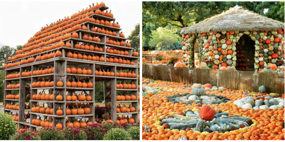 People Are Building Pumpkin Houses—and We're Obsessed