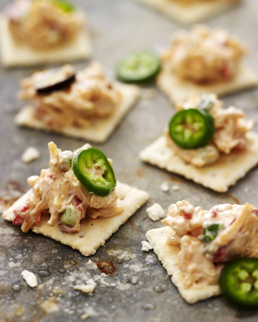 "<p>This is arguably the best store-bought crackers have ever looked.</p><p>Get the recipe from <a href=""http://picturesandpancakes.blogspot.co.uk/2013/08/back-down-south_2.html"" rel=""nofollow noopener"" target=""_blank"" data-ylk=""slk:Pictures and Pancakes"" class=""link rapid-noclick-resp"">Pictures and Pancakes</a>.</p>"