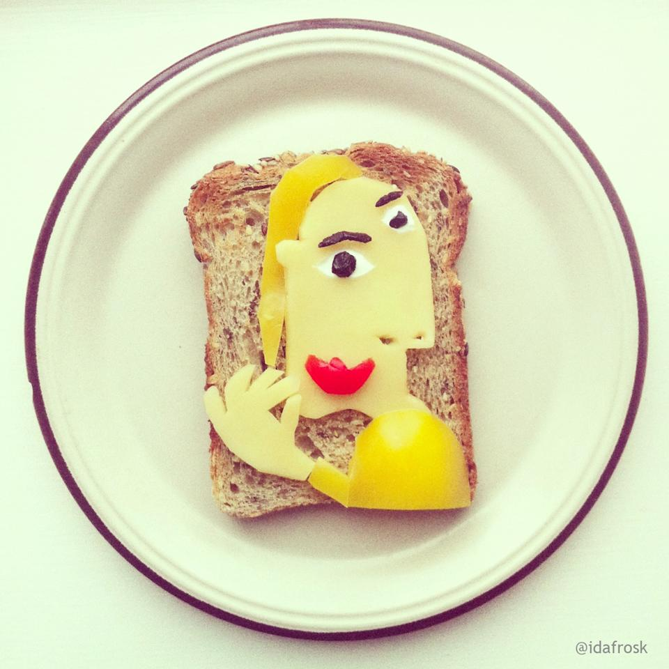Picasso's on toast.