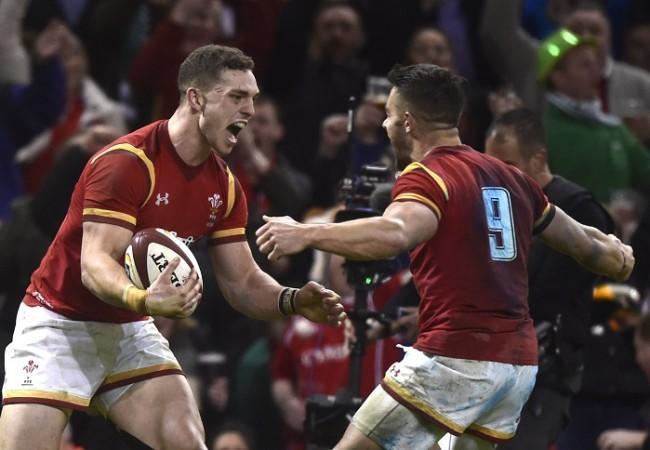 George North, Rhys Webb, Wales, Ireland, Six Nations
