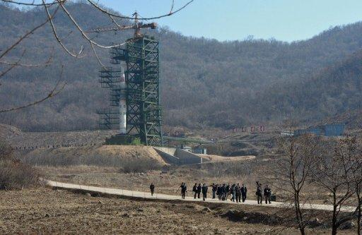 North Korea on April 13 launched what it called a satellite-carrying rocket