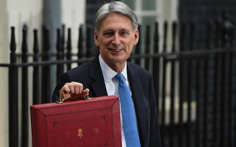 Philip Hammond is on track to beat his borrowing targets this year as the deficit tumbles - eddie_mulholland@hotmail.com