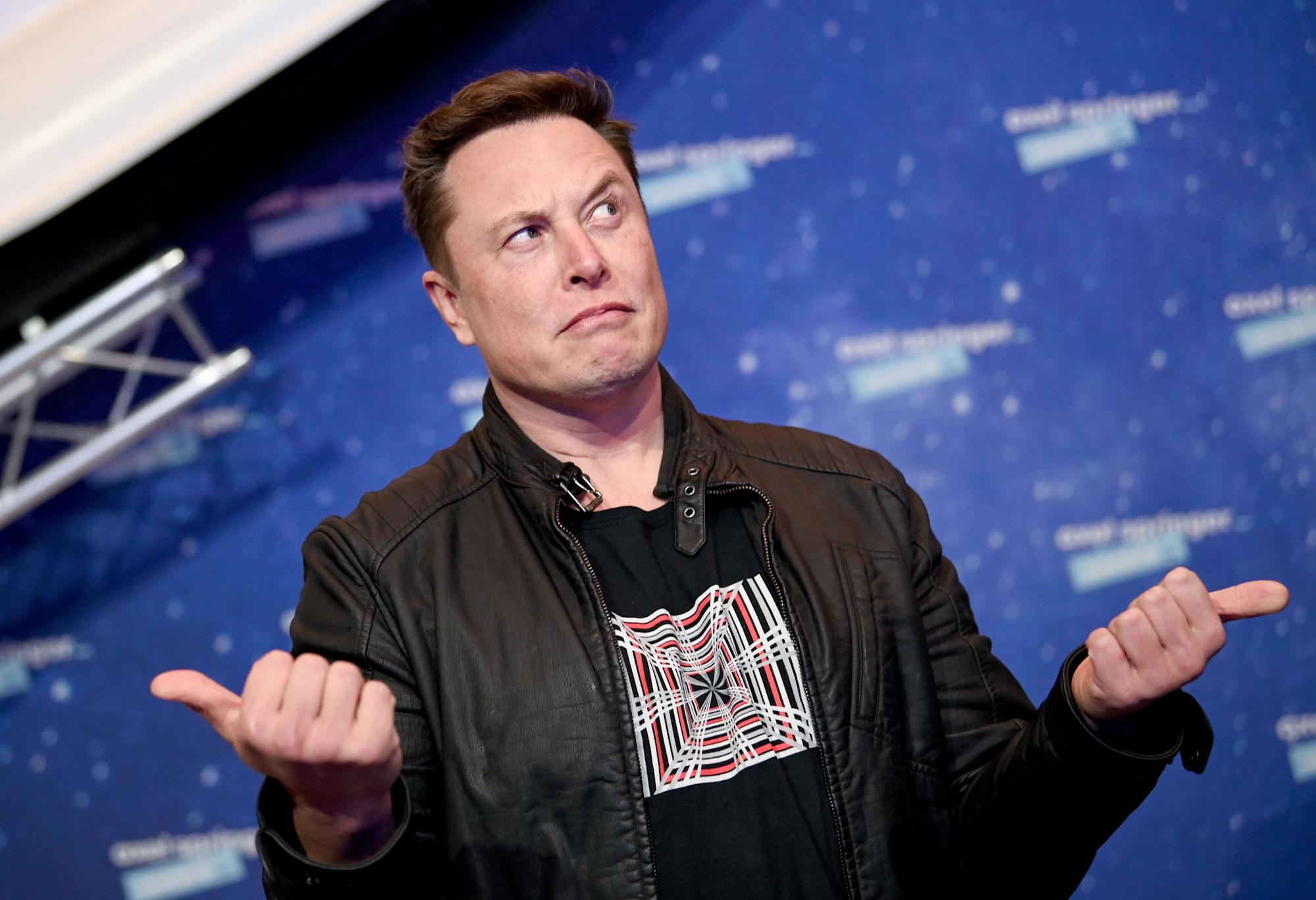 Elon Musk's 1-word tweet pumped $5bn into this stock