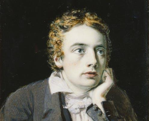 "<span class=""caption"">John Keats by Joseph Severn (1819).</span> <span class=""attribution""><a class=""link rapid-noclick-resp"" href=""https://www.npg.org.uk/collections/search/portrait/mw03554/John-Keats?LinkID=mp02480&role=sit&rNo=5"" rel=""nofollow noopener"" target=""_blank"" data-ylk=""slk:National Portrait Gallery"">National Portrait Gallery</a></span>"