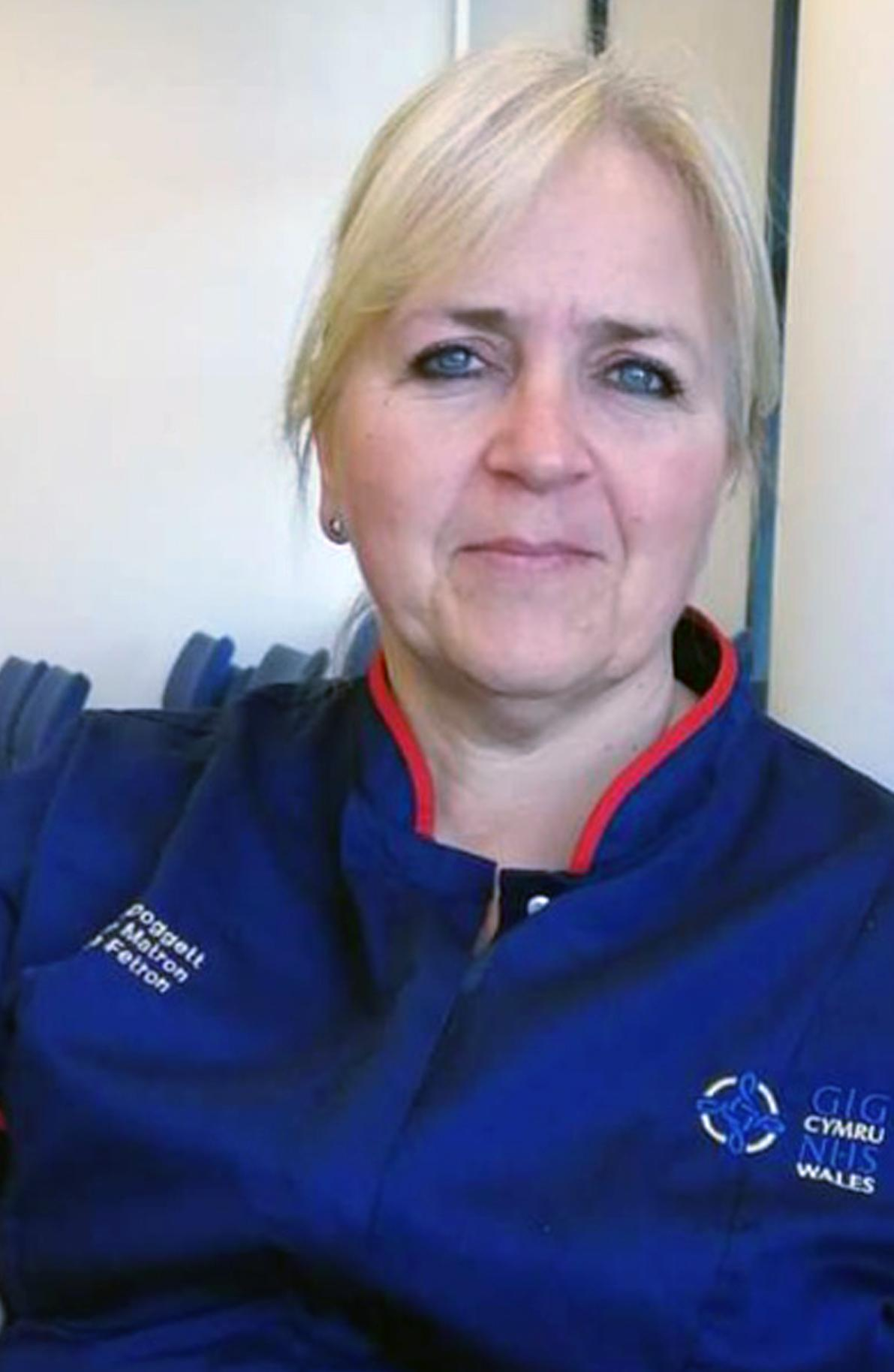 Carol Doggett is one of the nurses caring for sick patients at Morriston Hospital (Swansea Bay University Health Board/PA).