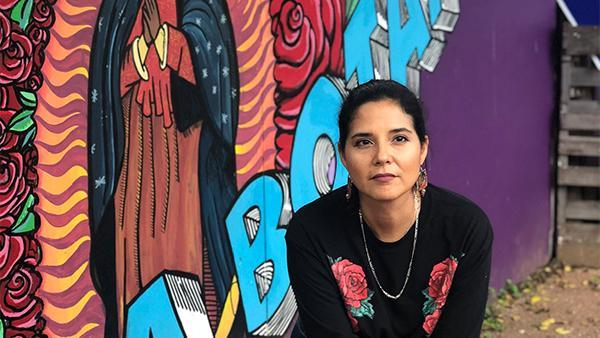 San Antonio restaurant owner Rebel Mariposa is concerned about reopening in the midst of the coronavirus pandemic. (Courtesy of Rebel Mariposa)