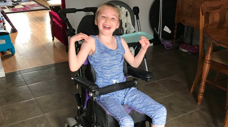 Nine-year-old Lexie Jackson alerted her family that her baby brother had fallen into the family pool. Image via CTV News/Twitter.