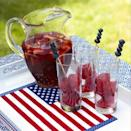 """<p>This yummy iced tea is just as refreshing as it is pretty. Don't forget to add your blueberry skewers!</p><p><strong><em><a href=""""https://www.womansday.com/food-recipes/food-drinks/recipes/a31611/red-strawberry-tea-recipe-ghk0710/"""" rel=""""nofollow noopener"""" target=""""_blank"""" data-ylk=""""slk:Get the Red Strawberry Tea recipe"""" class=""""link rapid-noclick-resp"""">Get the Red Strawberry Tea recipe</a>.</em></strong></p>"""
