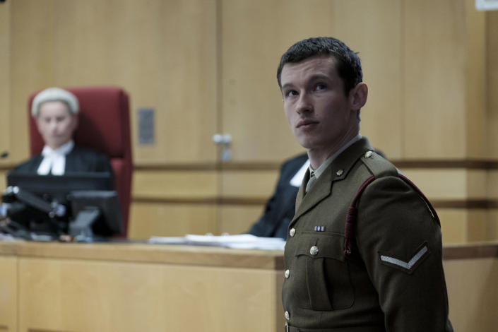 Callum Turner as Shaun Emery in 'The Capture' | BBC/Heyday Films/Nick Wall