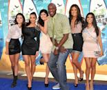 <p>2010 was the year of the formfitting dresses and miniskirts for both the Jenners and the Kardashians. Kendall and Kylie also started showing up to red carpet events wearing coordinating looks with their older sisters.</p>