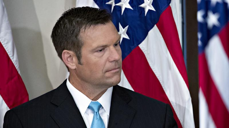 Kris Kobach Admits White House's Idea For Identifying Voter Fraud Wasn't A Good One